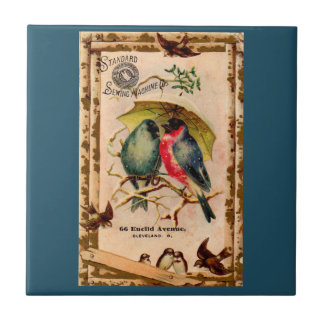 Victorian trade card Standard Sewing Machine Co. Tile