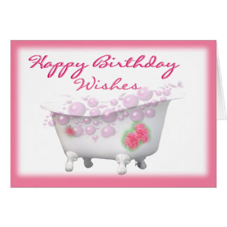 Victorian Tub-customize-any occasion Card
