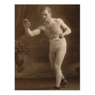 Victorian Underwear Model Postcard