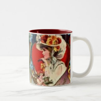 Victorian Valentine Day Mug