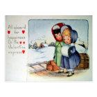 Victorian Valentine Postcard