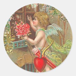 Victorian Valentine s Day Stickers