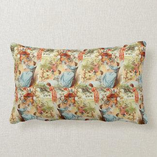 Victorian Vintage Fairytale Woman Shoe Pillow