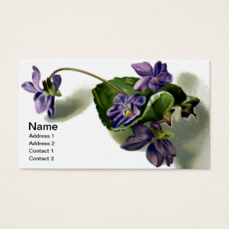 Victorian Violets Business Card
