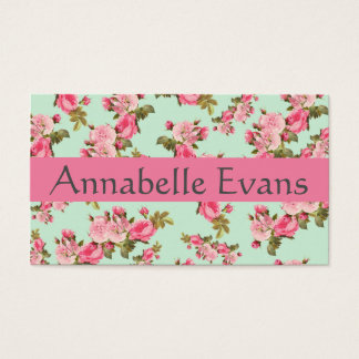 Victorian Virtues 3 Business Card