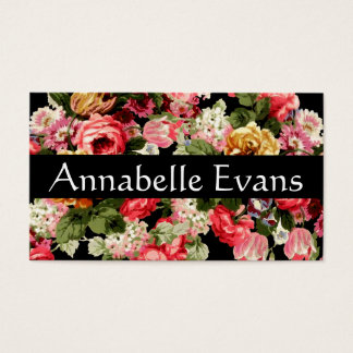Victorian Virtues Business Card