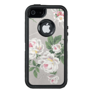 Victorian Wallpaper Roses OtterBox iPhone 5/5s/SE Case