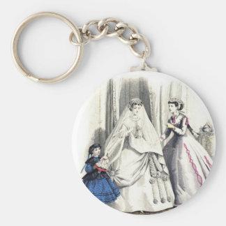 Victorian Wedding Key Chain