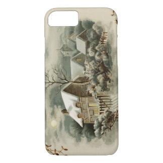 Victorian Winter Scene iPhone 7 Case