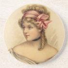 Victorian Woman Coaster