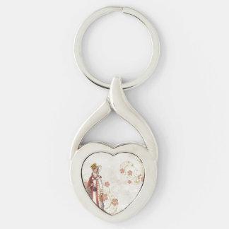 Victorian Woman Keychain