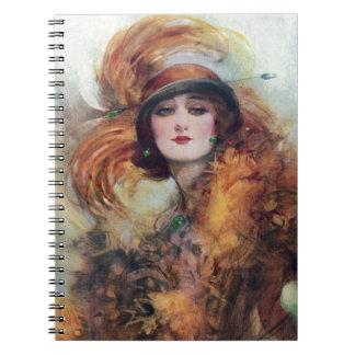Victorian Woman Notebook