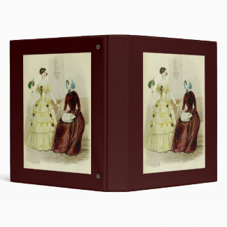 Victorian Women Vinyl Binders