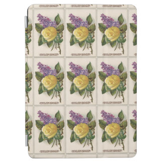 Victorian Yellow Rose and Lilac iPad Air Cover