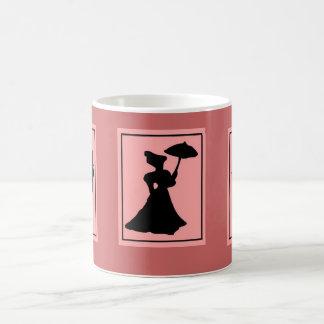 Victoriana 11 Oz Magic Heat Color-Changing Coffee Mug