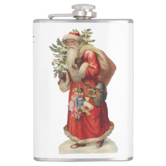 Victoriana Christmas flask (You can customize)
