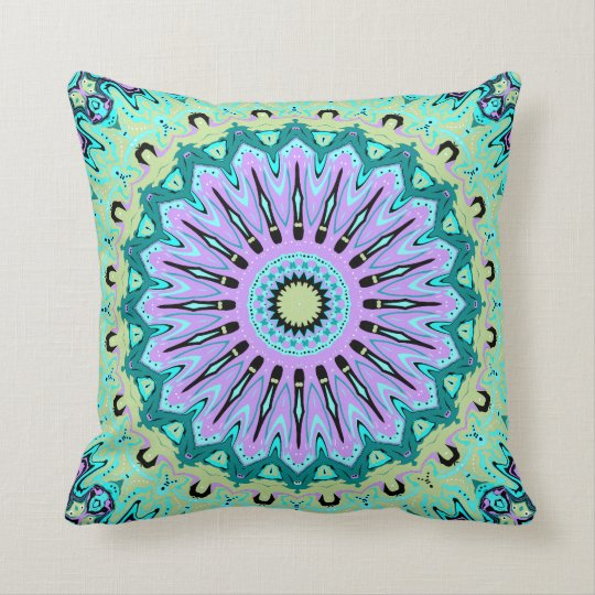 Victoriana Kaleidoscope Pillow