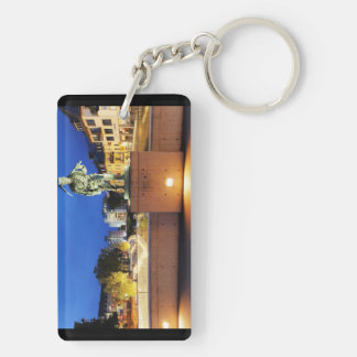 Victories miner Henner on the victory bank Double-Sided Rectangular Acrylic Keychain