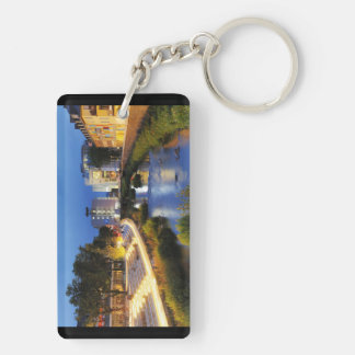 Victories victory banks to the blue hour Double-Sided rectangular acrylic keychain