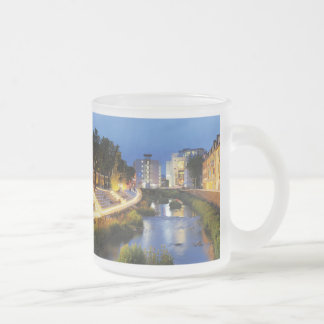 Victories victory banks to the blue hour frosted glass coffee mug