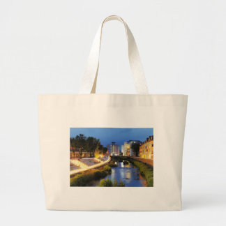 Victories victory banks to the blue hour large tote bag