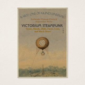Victorium Steampunk Business Card