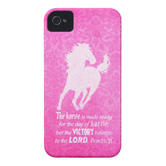 Victory Belongs to the Lord - Proverbs 21:31 Bible Case-Mate iPhone 4 Cases