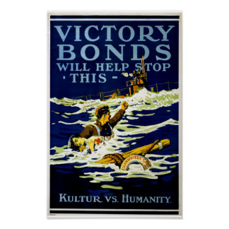 Victory Bonds Will Help Stop This Poster