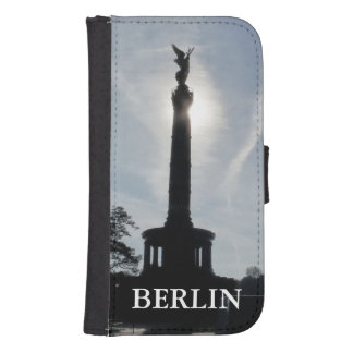 Victory-Column with street lamp 02.T, Berlin Phone Wallet Cases