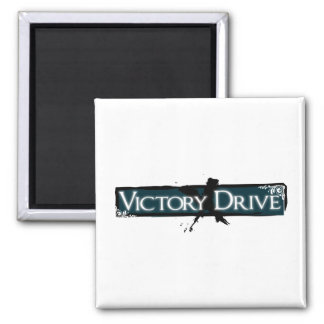 Victory Drive Square Magnet