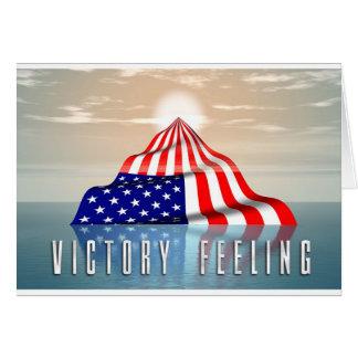 Victory Feeling Card