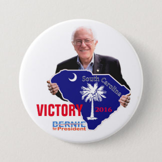 Victory for Bernie in 2016 3 Inch Round Button