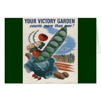 Victory Garden Card