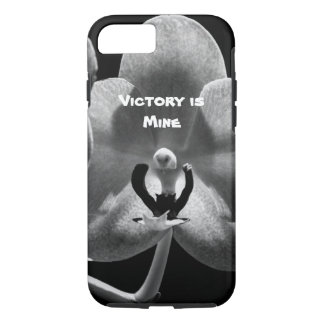 Victory is Mine Orchid iPhone 7 Case