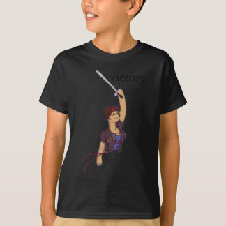 victory joan of arc with victory T-Shirt