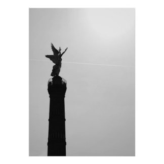Victory on the victory column poster