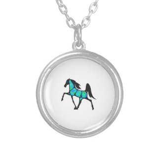 Victory Prance Silver Plated Necklace