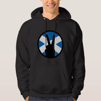 Victory Sign (Scotland) Hoodie