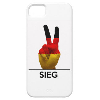 victory symbol hand germany sieg german text case for the iPhone 5
