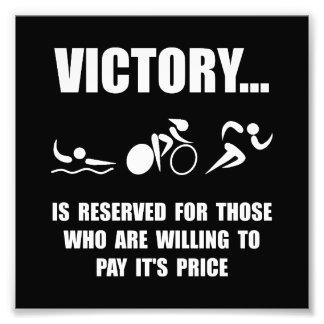 Victory Triathlon Photo Print