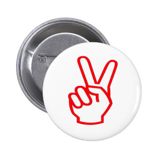 VICTORY  Winner:  Sale Force Motivation Symbol 2 Inch Round Button