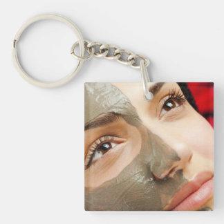 Vida Pura Spa Mud Mask Facial Keychain