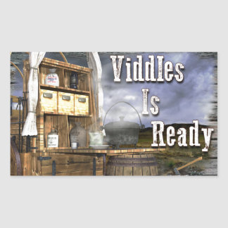 Viddles Is Ready Sticker