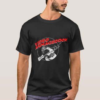 Video Armageddon - Black T-Shirt