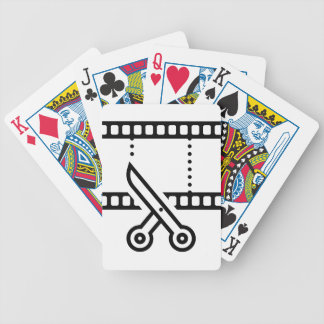 Video Cut Bicycle Playing Cards