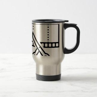 Video Cut Travel Mug