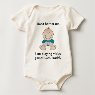 Video Game Baby Baby Bodysuit