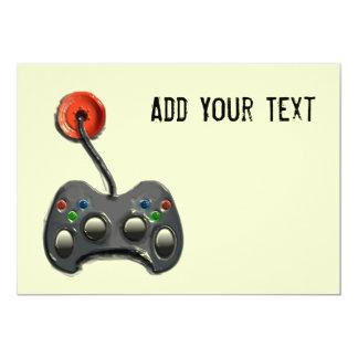 VIDEO GAME INVITATIONS