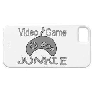 Video Game Junkie iPhone 5 Cases