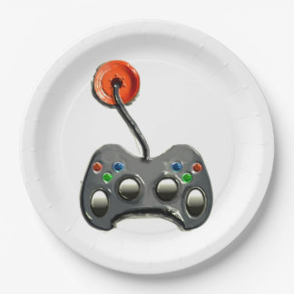 video game party plates 9 inch paper plate